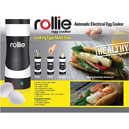Rollie Eggmaster Electric Vertical Egg Pop Cooker // 10 CREATIVE Egg Gadgets That Will Make Your Mornings Happier