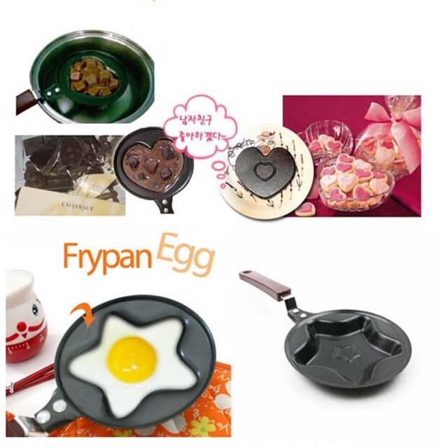 Cute And Cuddly Shaped Egg Frying Pan Utensils // 10 CREATIVE Egg Gadgets That Will Make Your Mornings Happier