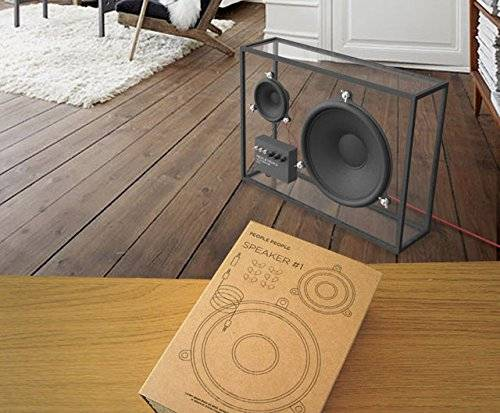 Minimalist Transparent Speakers With Wifi, Bluetooth, USB // 10 Minimalist Home Decor Ideas That Will Transform Your Lifestyle Forever