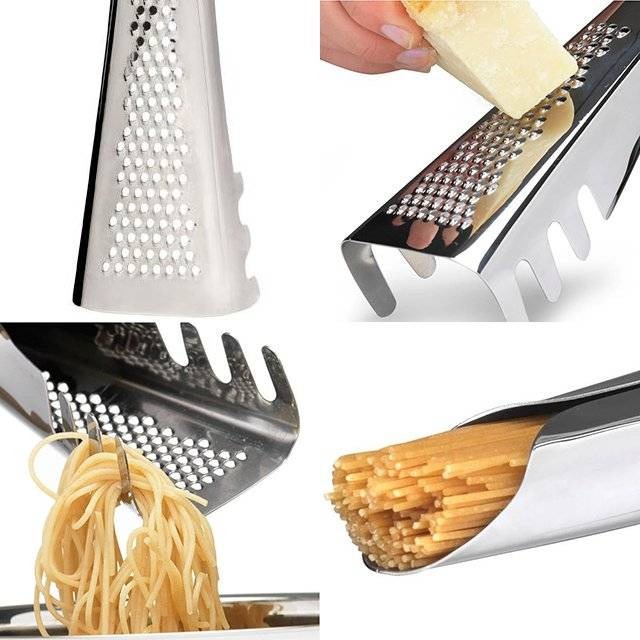 Minimalist Multifunctional Pasta Tool Saves Kitchen Space // 10 Minimalist Home Decor Ideas That Will Take Your Elegance Factor Up A Notch