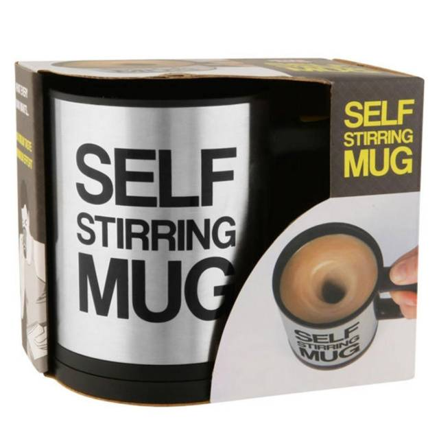 Self Stirring Coffee Mug Brews Your Drinks To Perfection // 10 UNIQUE & Cool Coffee Mugs That Will Fill Your Mouth With Goodness