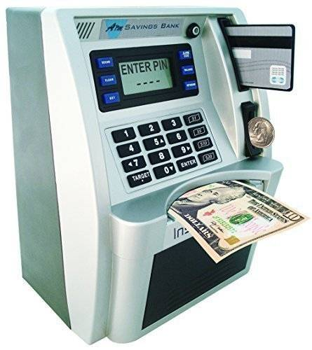 Incredible ATM Machine Piggy Bank // 10 UNIQUE & Cool Piggy Banks That You Could Fall In Love With
