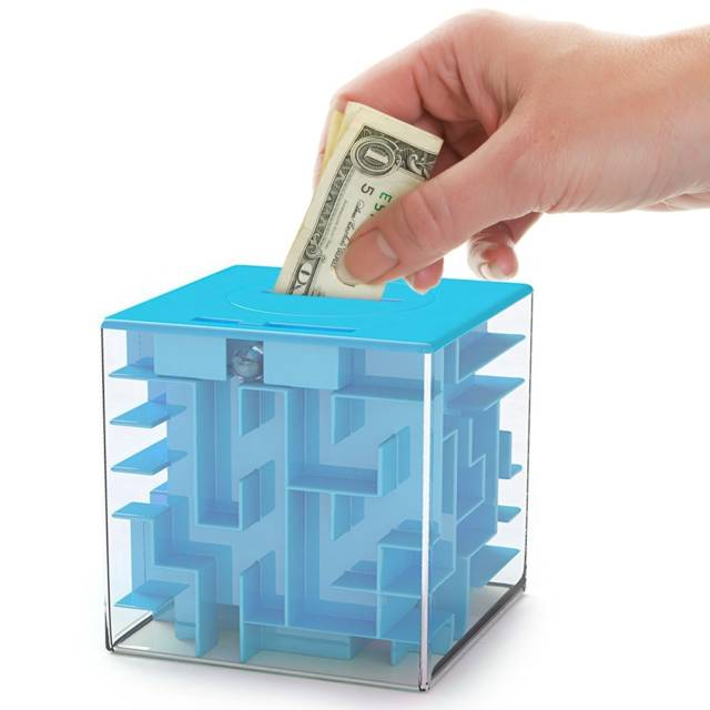 The Ultimate Money Maze Coin Box // 10 UNIQUE & Cool Piggy Banks That Will Make Saving Money So Much Fun