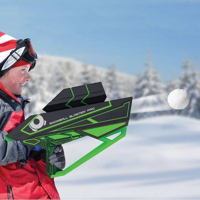 The 80 Foot Snowball Blaster Pro // 10 CREATIVE Cool Toys That Will Make You Wish You Were A Kid
