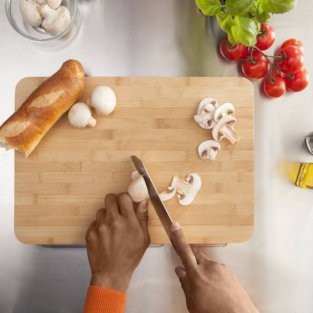 The Mocubo Storage Cutting Board // 10 BEST Cutting Board Designs To Help You Become The Next Iron Chef