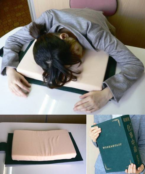 The Ultimate Dictionary Desk Pillow // 10 BOOK Furniture Design Pieces That Will Inspire You