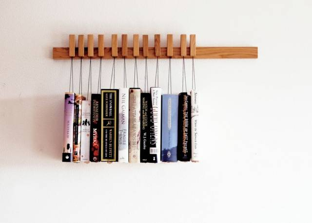 Creative & Minimalistic Book Rack Home Accesory // 10 BOOK Furniture Design Pieces That Will Take Your Love Of Reading To New Heights