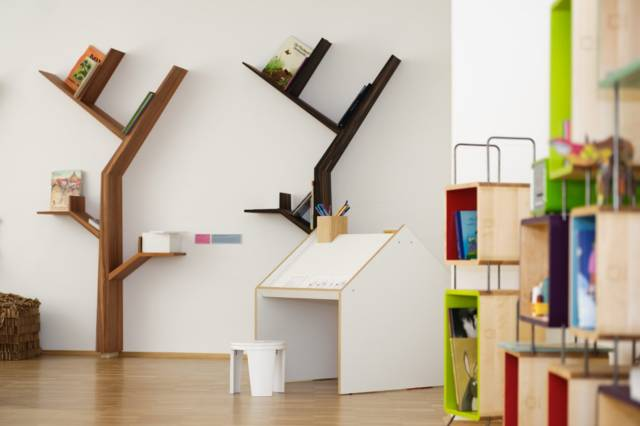 Unique & Cool BookTree Bookshelf // 10 BOOK Furniture Design Pieces That Will Take Your Love Of Reading To New Heights