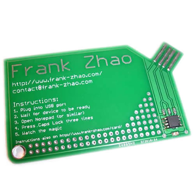 Circuit Board USB Business Card // 255 Creative & Unique Business Cards Design Inspiration & Ideas