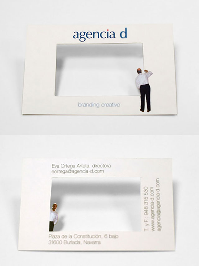 Branding Agency Business Card // 255 Creative & Unique Business Cards Design Inspiration & Ideas