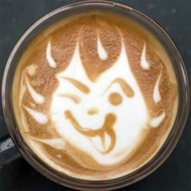 Latte Art Designs : Creative coffee latte art designs that will energize