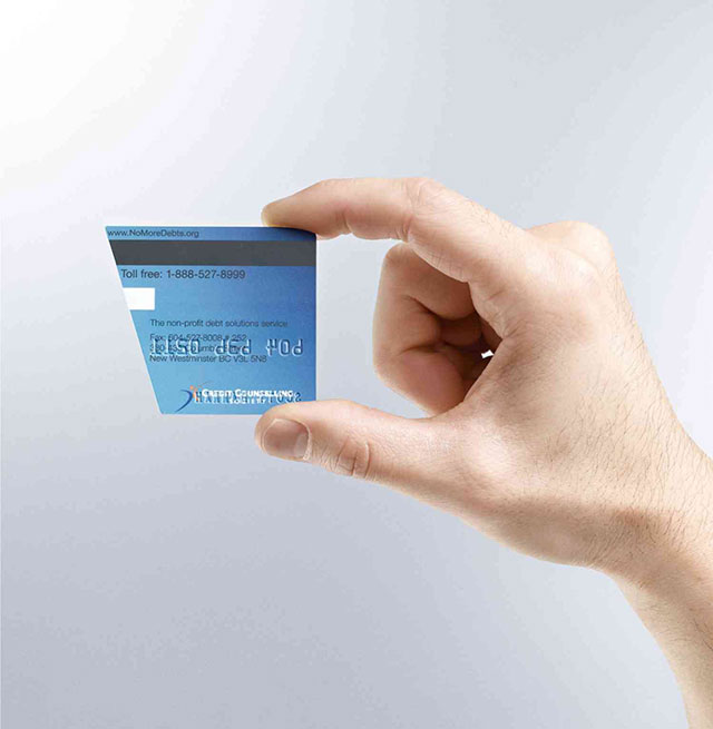 Credit Counselling Business Card // 255 Creative & Unique Business Cards Design Inspiration & Ideas