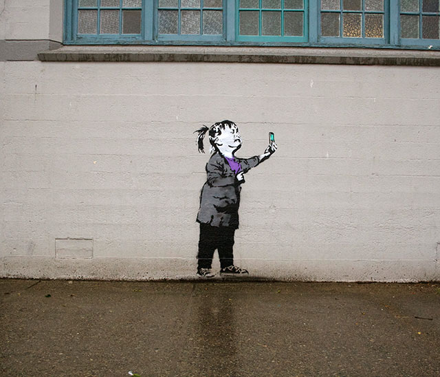 You're Such A Poser | Social Media Street Art, a Sign Of The Times