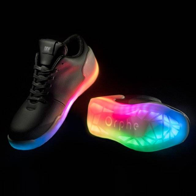 LED Shoes That Light Up At The Bottom