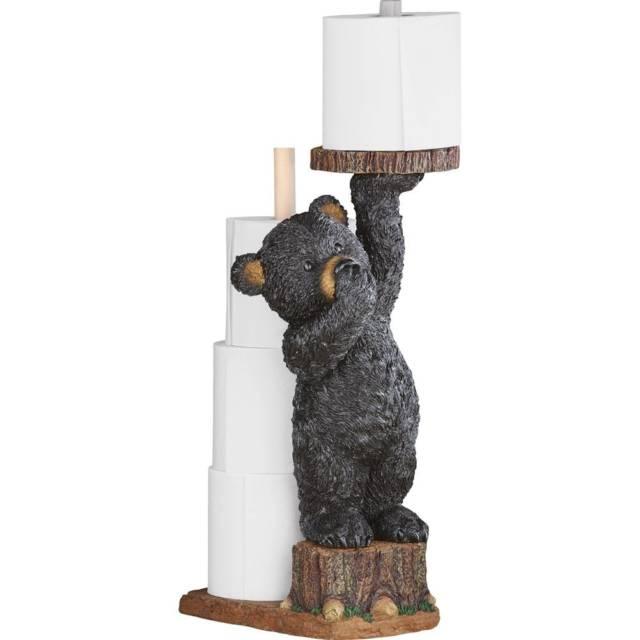 cute bear toilet paper holder