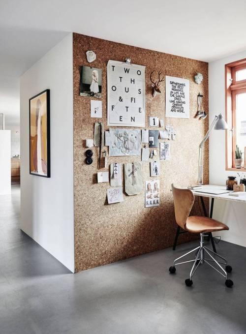 Creative Office Design Cork Board Wall Interior U0026 Decor