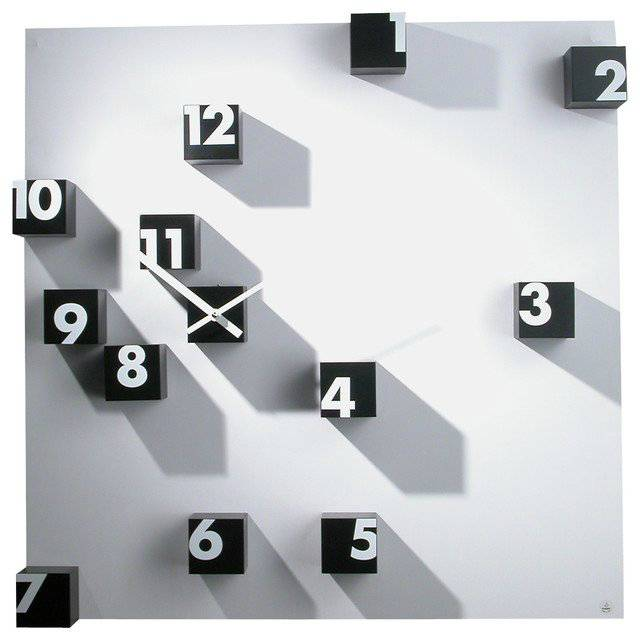 Progetti RND Random Time Wall Clock // 10 MOST Creative Clocks That Will Transform Time As You Know It