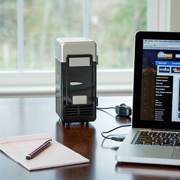 USB Thermoelectric Cooler & Warmer Mini Fridge // 10 REALLY Cool USB Gadgets That Will Blow Your Mind Sky High