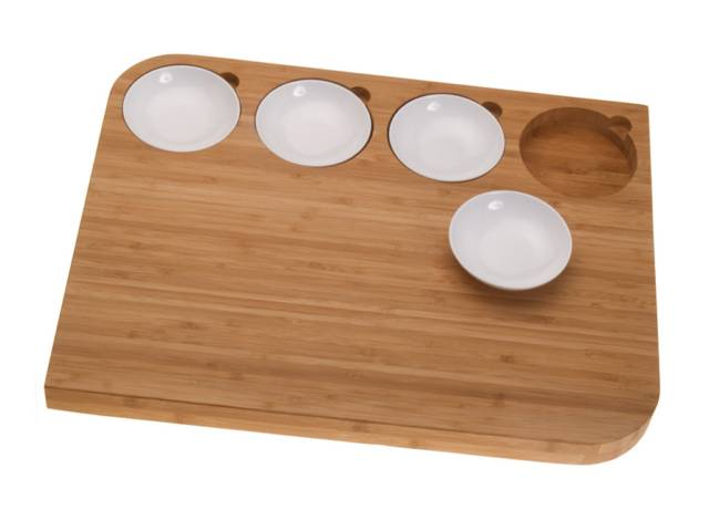 The Bowlboard Cutting Board & Serving Platter // 10 BEST Cutting Board Designs To Help You Become The Next Iron Chef